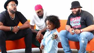 The HamilTones Sing Lullabies To Crying Toddlers