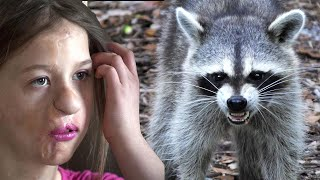 Pet Raccoon Puts Little Girl's Life At Risk— But 11 Yrs Later She Gets The Transformation She Wanted