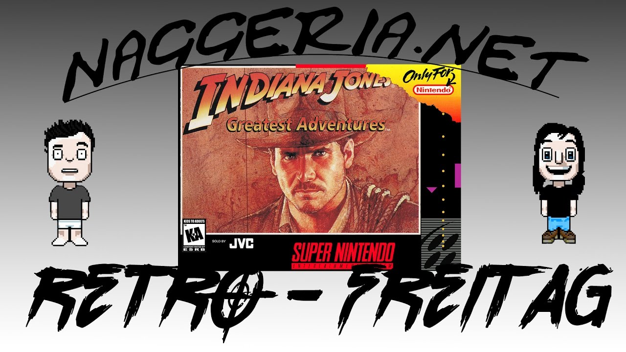 [Retro-Freitag] Indiana Jones' Greatest Adventures (Super Nintendo)