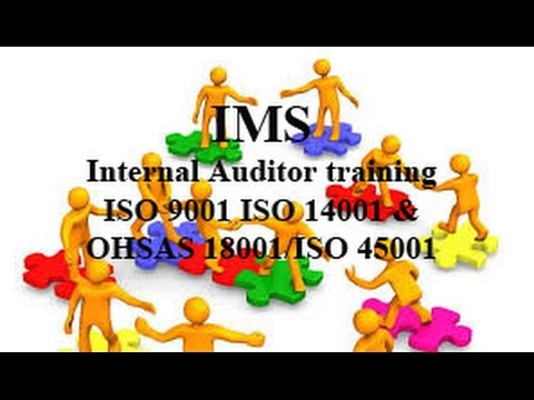 ISO 9001 ISO 14001 ISO 45001 Internal Auditor |QHSE Training