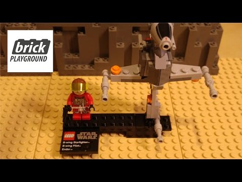 Vidéo LEGO Star Wars 75010 : B-Wing Starfighter & Endor