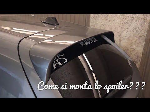 Montaggio Spoiler su Alfa Romeo MiTo