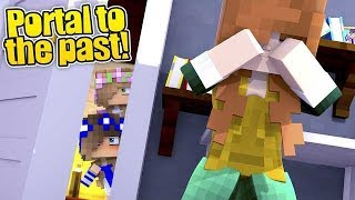 PORTAL TO THE PAST | BABY CARLY FINDS OUT SECRETS ABOUT QUEEN SOPHIE! | Little Carly Minecraft.