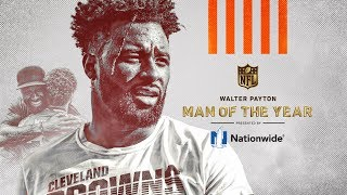 Jarvis Landry Named Browns Walter Payton Man of the Year for 2019