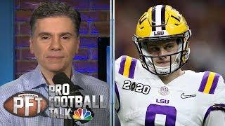 What makes Joe Burrow a top draft pick? | Pro Football Talk | NBC Sports