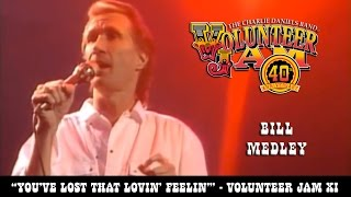 Heres another great Volunteer Jam moment Bill Medley from The Righteous Brothers