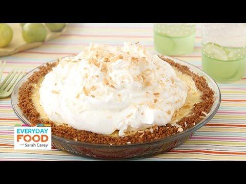 Coconut Key Lime Pie – Everyday Food with Sarah Carey