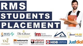 RMS Students Placement | Get Your Dream Job in Top Companies | Join RMS