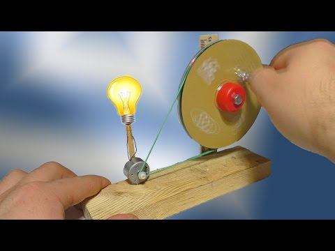 How to make a Generator at home - Easy