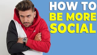 HOW TO STOP BEING SHY AND INTROVERTED (BE MORE SOCIAL) | Alex Costa