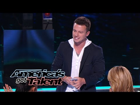 Mat Franco: Magician Wows Judges With Card Trick - America's Got Talent 2014 (видео)