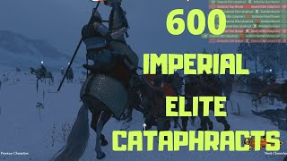 600 Cataphracts vs 1792 Vlandians Bannerlord Cinematic