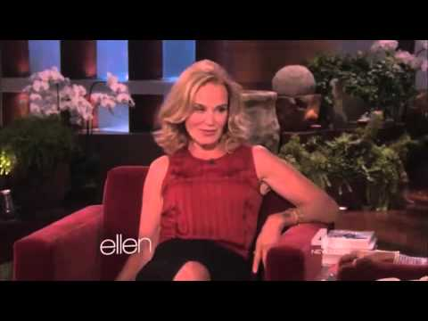 Jessica Lange on Ellen 2012