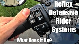 Reflex Defensive Rider Systems (RDRS) Explained For Harley-Davidson Motorcycles
