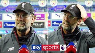 """It makes no sense, this question!"" | Jurgen Klopp's full post match interview after Man City defeat"