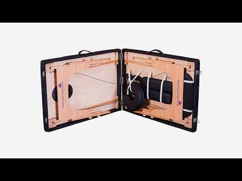 Mobile Massageliege günstig kaufen, klappbare Holz-Massageliege
