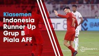 Klasemen Piala AFF 2018, Indonesia Naik ke Peringkat Kedua