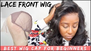 HOW TO MAKE A LACE FRONTAL WIG FOR BEGINNERS TUTORIAL | BEST WIG CAP EVER!! | ELEMO HAIR