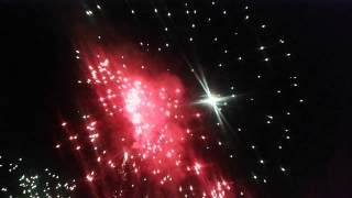 preview picture of video 'Marshall Fireworks welcomes 2015 with some bang Wangaratta'