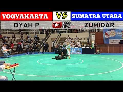 F Putri DIY Dyah VS Sumatra Utara Zumidar PRA PON  pencak silat