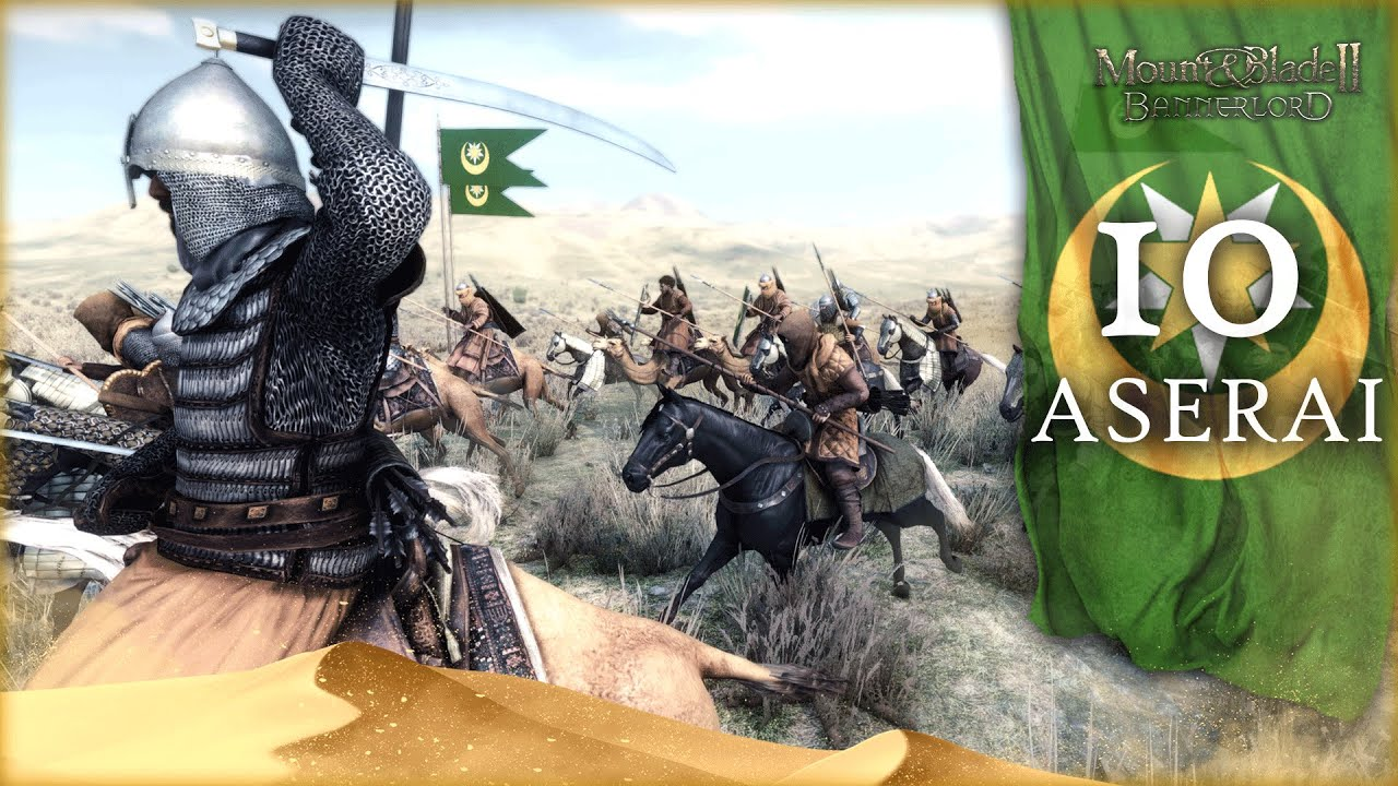 DIVINE SWORD AND CAMEL OF SULEIMAN! - Mount and Blade 2 Bannerlord (Aserai) Campaign Gameplay #10