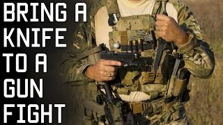 Why You SHOULD Bring a Knife to a Gunfight | Special Forces Combat Techniques | Tactical Rifleman