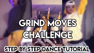 GRIND MOVES DANCE CHALLENGE Step By Step Tutorial (MIRRORED) | Watta Moves