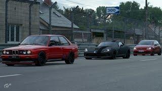 GT Sport:400HP-1000HP Street Action w/ MK7 GTi, E30 M3, SRT Viper & More