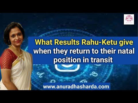 Rahu Ketu Return to Natal Position for all Lagnas