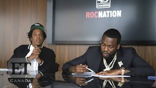 Meek Mill Launches Record Label With Jay Z's Roc Nation