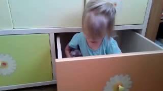 Агата Пуся и выджвижной ящик. Зачем нужен шкаф?