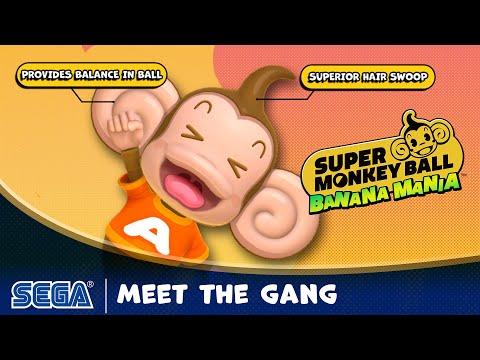 Super Monkey Ball: Banana Mania Meet the Gang Trailer