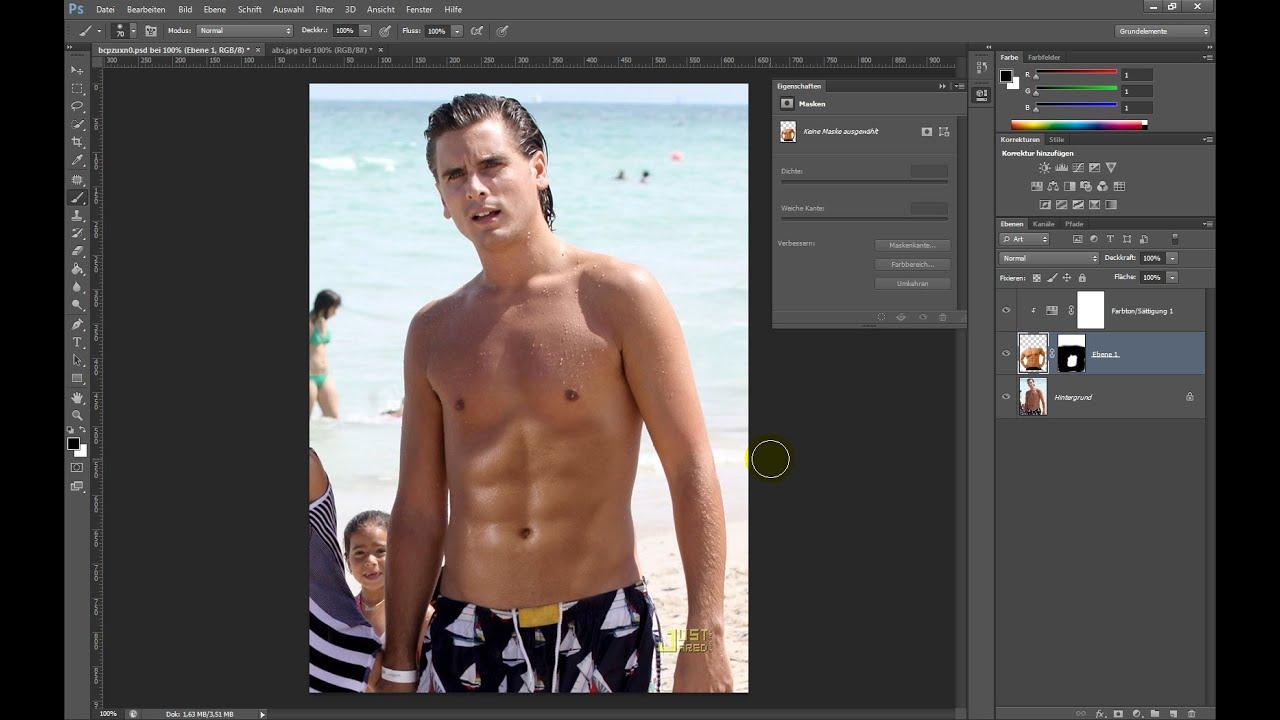 Sixpack erstellen – Photoshop-Tutorial