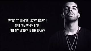 Drake - Money In The Grave ft. Rick Ross (Lyrics)