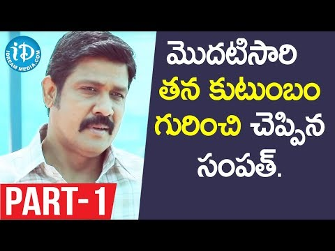 Actor Sampath Raj Exclusive Interview - Part #1 || Talking Movies With iDream
