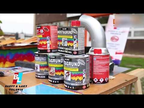 Barva syntetická INDUSTROL UNIVERZÁL S 2013 9110 hliníková 0,75 l