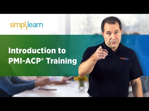 PMI-ACP® Certification Training | PMI Agile Certified Practitioner ...