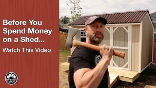 Before You Spend Money on A Shed…Watch This Video