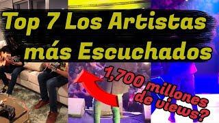 Top 7 Los Artistas Más Escuchados Del Campirano