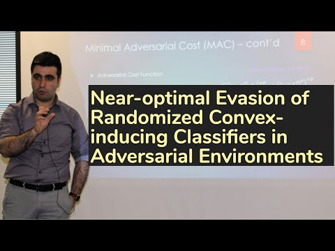 Near-optimal Evasion of Randomized Convex-inducing Classifiers in Adversarial Environments