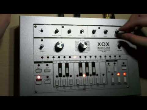 x0xb0x xoxbox Overdrive & muffler distort tb-303 clone - смотреть