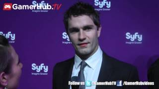 Syfy Upfronts 2013 : Sam Witwer Interview - GamerHub