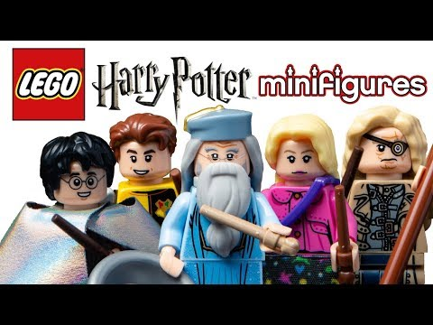 LEGO Harry Potter Minifigures - My Thoughts!