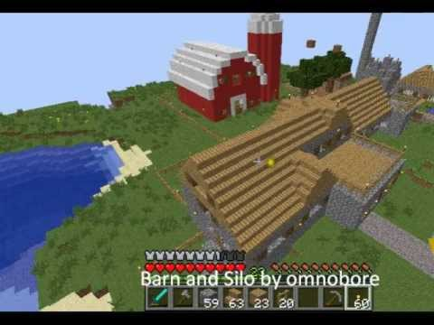 Minecraft Red Barn Minecraft Project