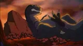 sharptooth attacking land before time 5 part 2 - 免费在线