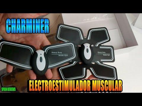 Charminer - Electro estimulador muscular abdonimal