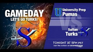 19-20 Turk Basketball vs. University Prep