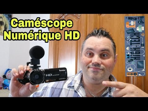 """Présentation """" caméscope numérique HD """" ( mini caméra hd )"""