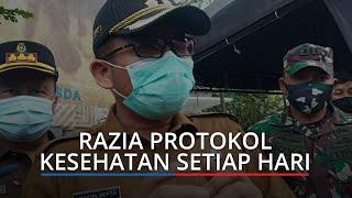 Razia Protokol Kesehatan di Padang Digelar Setiap Hari, Wawako: Kita Tidak Mau Kembali PSBB