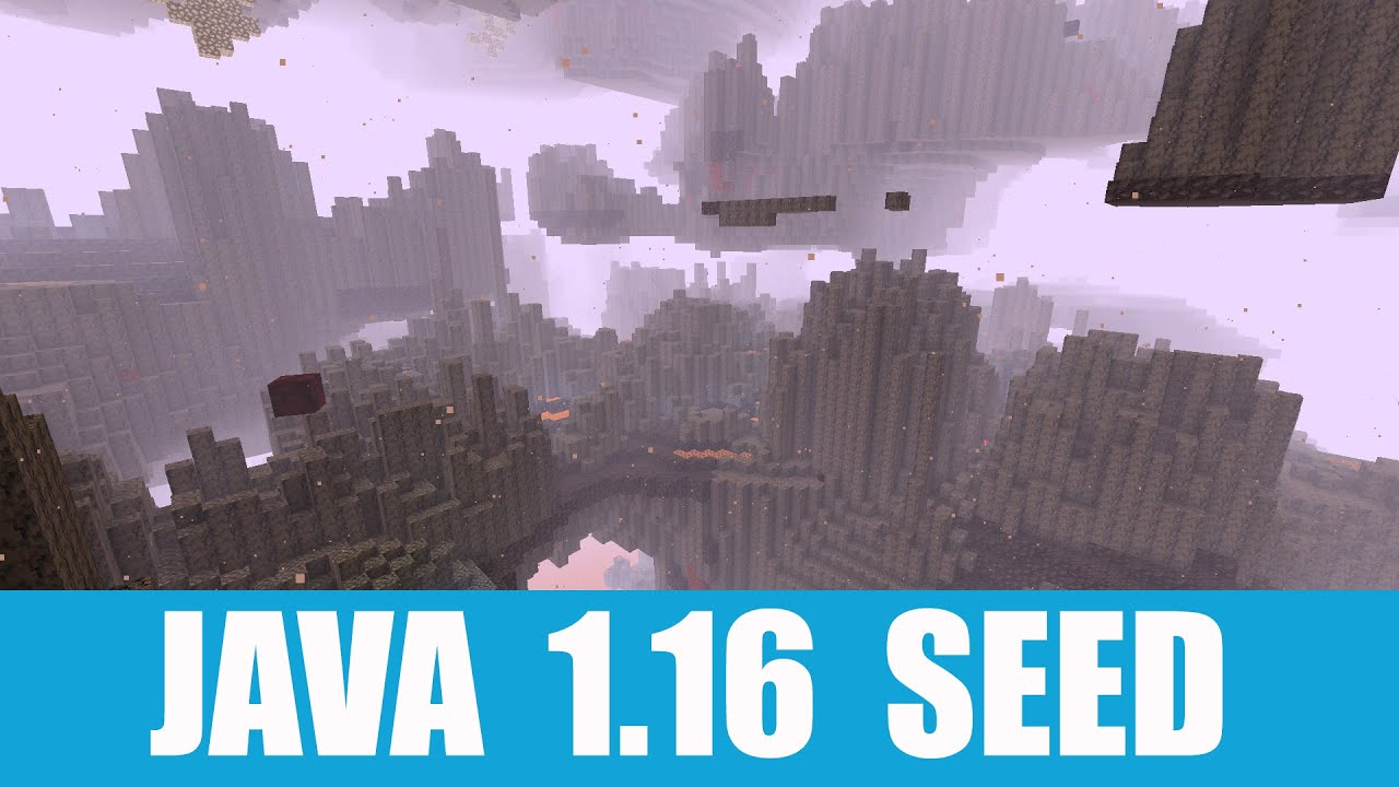 Java 1.16 Seed: Basalt Deltas, new nether biome and village at spawn. MINECRAFT SEED -6160618112742467480
